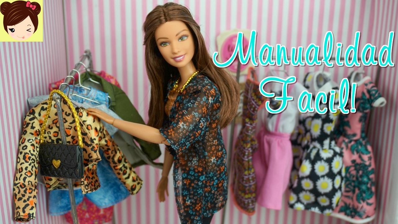 Como hacer ropa de moda para barbie