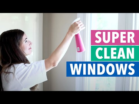 How to Clean Windows Like a Pro! (Clean My Space)