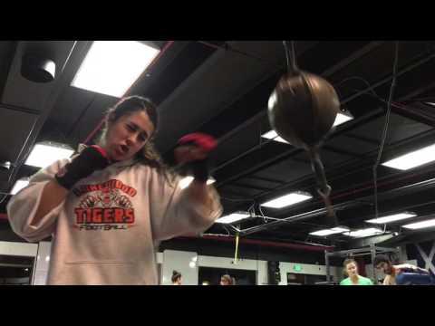 FusBoxe Martial Arts Girls Assistant Coach & Captain, Madison S.