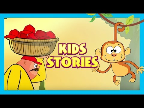 Kids Hut Stories - Monkey and The Cap seller & More Animated Stories For Kids