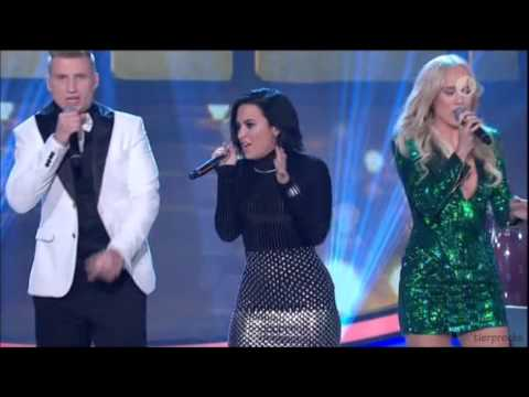 Demi Lovato - Ain't No Mountain High Enough (Diana Ross cover) @ Swedish Idol 2015