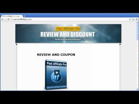 Post Affiliate Pro Coupon