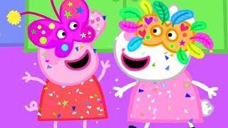 Peppa Pig Português Brasil | Feliz Carnaval! 🎈 | HD | Desenhos Animados