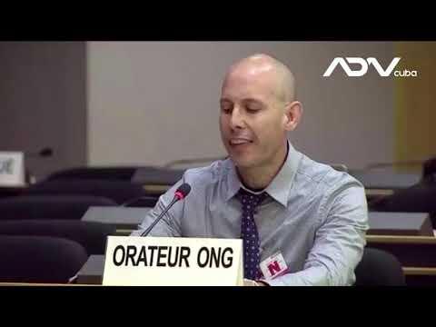 Régimen cubano y dictaduras aliadas sabotean intervención de activista Ariel Ruiz Urquiola en la...