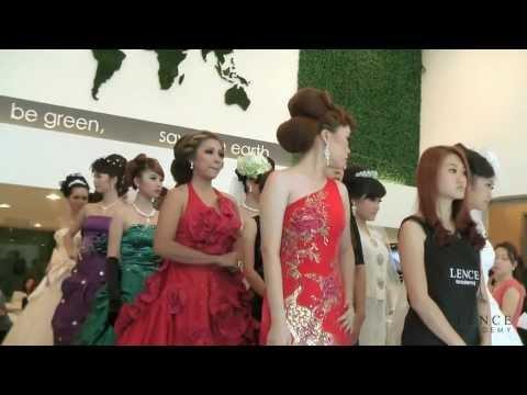 Bridal Makeup show (March 2013) @ LENCE Academy