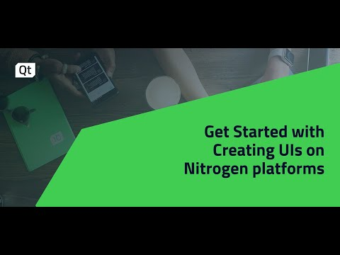 Get Started with creating UIs on Nitrogen8 SBCs and SOMs {On-demand webinar}