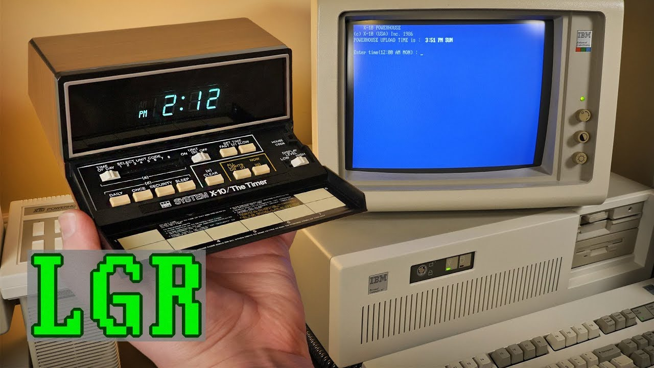 Lgr Oddware Follow Up The Timer X10 System Controller Youtube Wall Switch Wiring Diagram