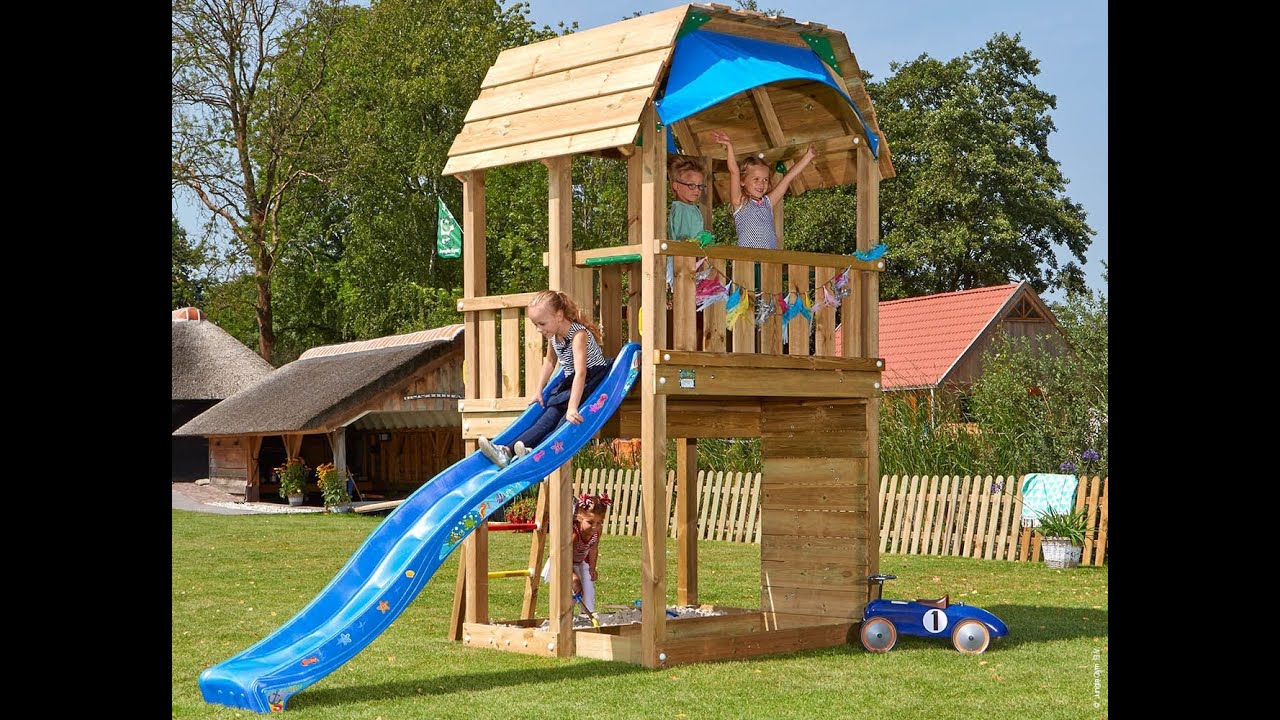 Jungle Gym - Jungle Barn features - YouTube