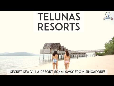 Telunas Resorts - Secret Sea Villa Resort 50km Away From Singapore!