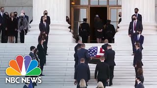 Watch: Thousands Gather To Mourn Supreme Court Justice Ruth Bader Ginsburg   NBC News NOW