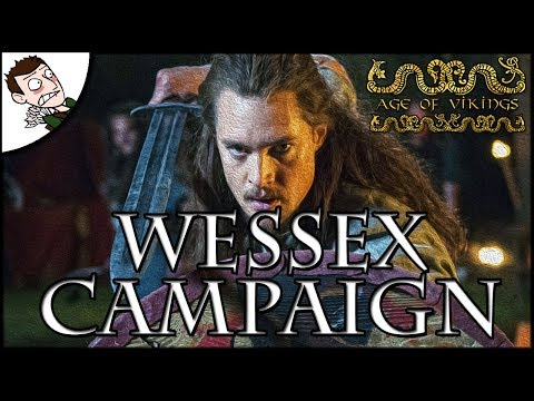 Forming the Kingdom of England!  Age of Vikings Total War (Attila Mod) Wessex Campaign Final Part!