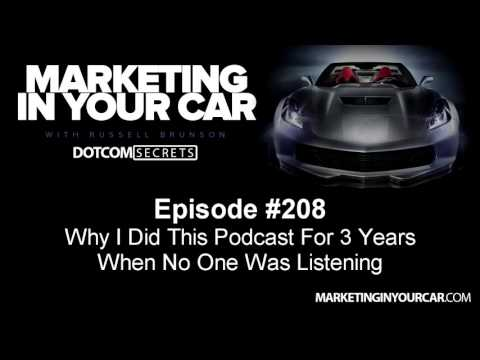 208 - Why I Did This Podcast For 3 Years When No One Was Listening