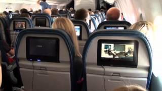 Dans l'avion (notre voyage aux USA - Juillet 2014)