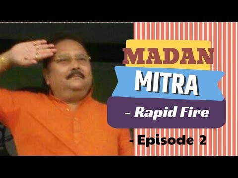 Madan Mitra - Rapid Fire | Ep 2 | Abhik Misra Vineyard