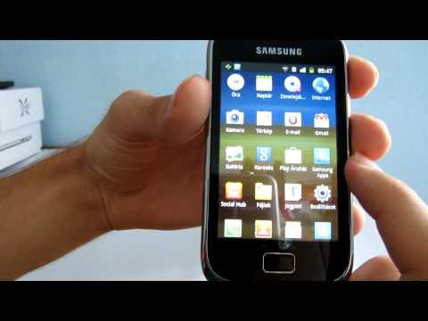 Samsung Galaxy Mini 2 S6500D okostelefon bemutató videó - mobilxTV