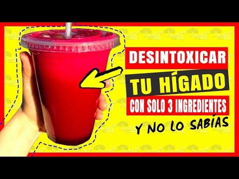 🔴✅Sabias como Desintoxicar el HIGADO y Mejorar la Vista con estos 3 ingredientes ¡ENTERATE!