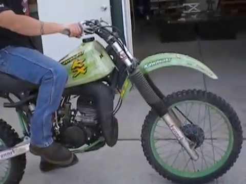 Kawasaki Kdx Remove Engine