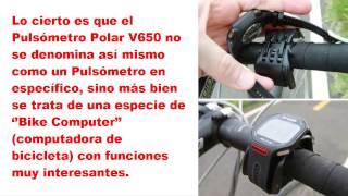 Pulsómetro POLAR V650 Funciones (2 de 2)