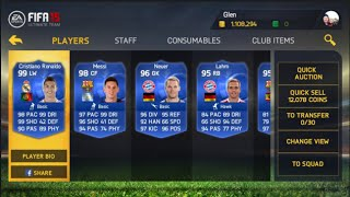 FIFA 15 IOS/ANDROID EASY SNIPING/BIDDING METHOD!