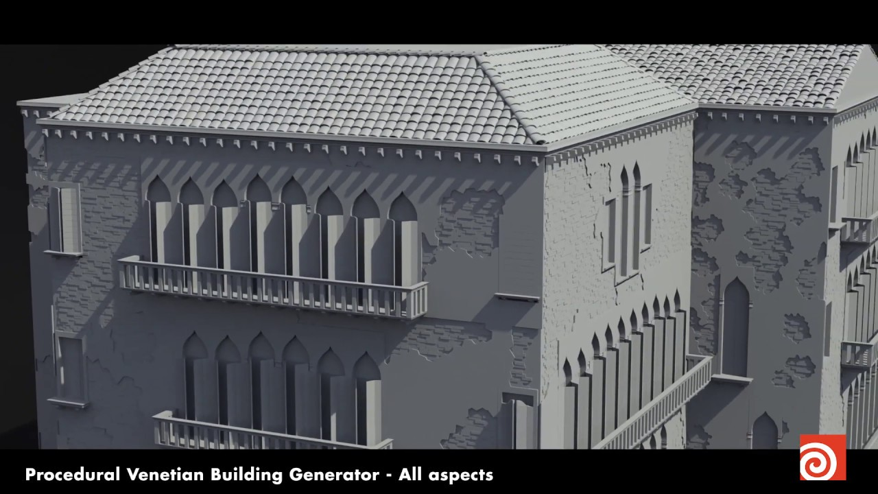 Procedural Generation of Architecture & Props