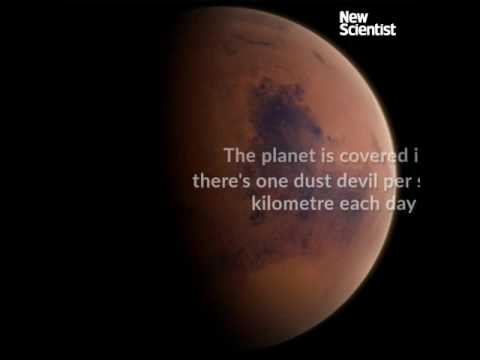 Mars's surface hosts millions of towering dust devils every day