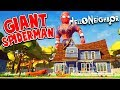 MY GIANT SPIDERMAN NEIGHBOR Hello Neighbor Gameplay mp3