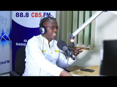 Simon Ssenkaayi - Understanding the power in your calling (Studio Session @88 8 Cbs Fm)