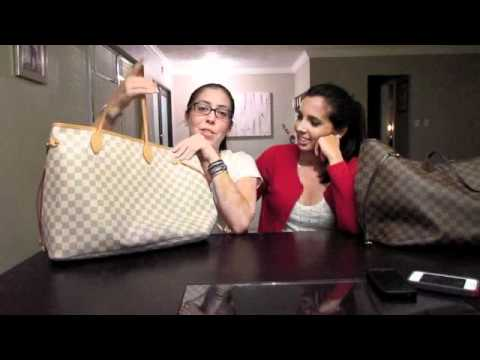 TIPS ON: How to clean your Louis Vuitton Damier Azur handbag