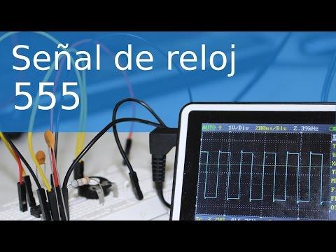 Señal de reloj con 555 - Electrónica básica