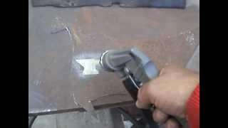 Пескоструйка в работе(Пескоструйка , обработка дерева. металла., 2013-07-11T07:54:06.000Z)