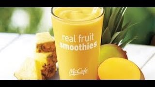 How To Make A Mcdonald's Pineapple Mango Smoothie