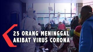 Sebanyak 25 Orang Meninggal akibat Wabah Virus Corona di China