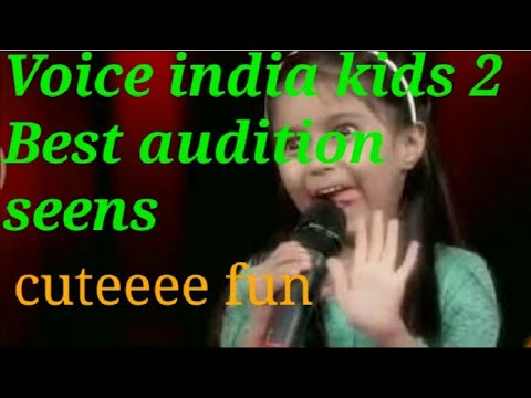 The VOICE INDIA KIDS 2017 SEASON 2 latest - Best contestants blind audition seens