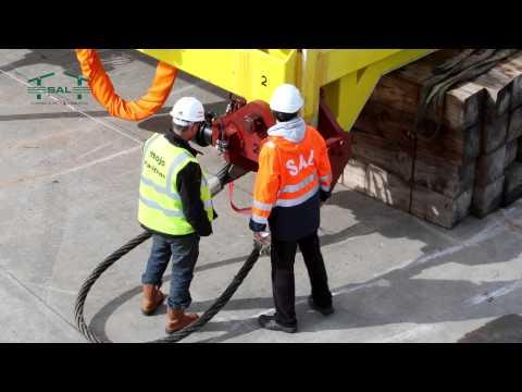 SAL Offshore: MV Lone, Installing Tidal Turbine