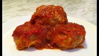 Рыбные Тефтели в Томатном Соусе / Fish Meatballs / Тефтели из Рыбы с Рисом / Очень Простой Рецепт