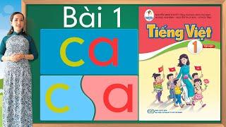 Tiếng việt lớp 1 sách cánh diều - Bài 1  Learn vietnamese  Bảng chữ cái tiếng việt