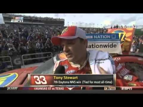 Video_ Daytona 500_ Horror crash injures 30 Nascar spectators - Telegraph
