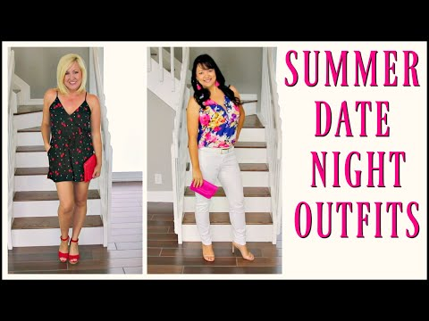 OLD NAVY, EXPRESS, etc Haul | Summer Date Night Lookbook for Women Over 40 Fashion Trends 2018