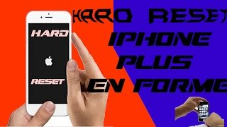 Tuto Hard Reset iPhone iPad iPod Touch Respring iPhone Bloqué !