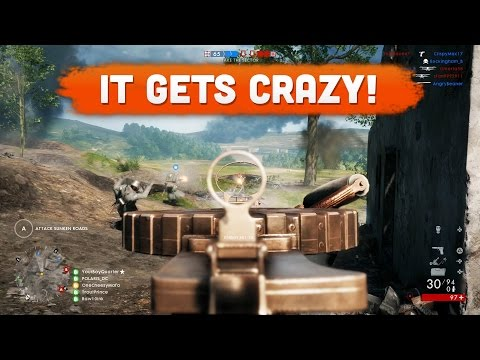 IT GETS PRETTY CRAZY! - Battlefield 1 | Road to Max Rank #23 (Multiplayer Gameplay)