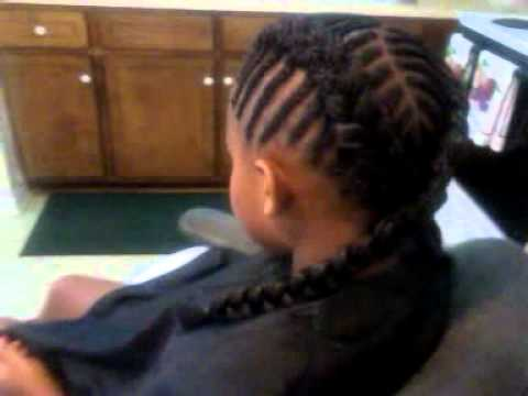 Criss Cross Fishbone Cornrows