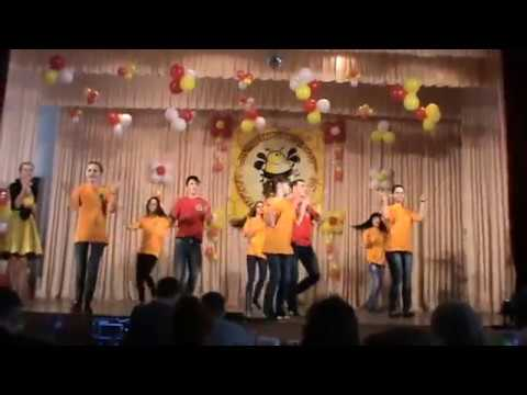 Youth Forum of the vocational schools  The final concert song  Singing girl and boy