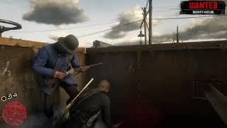 Red Dead Redemption 2 Best mass killing spot!