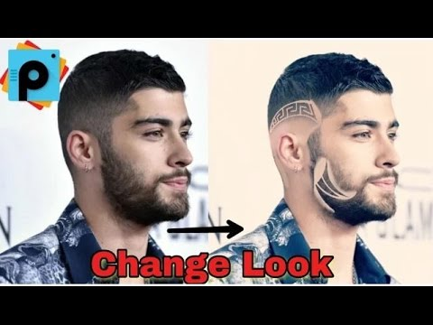 Picsart Editing Tutorials How To Change Hair Style And Look In