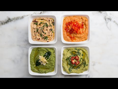 Download Youtube: Hummus 4 Ways