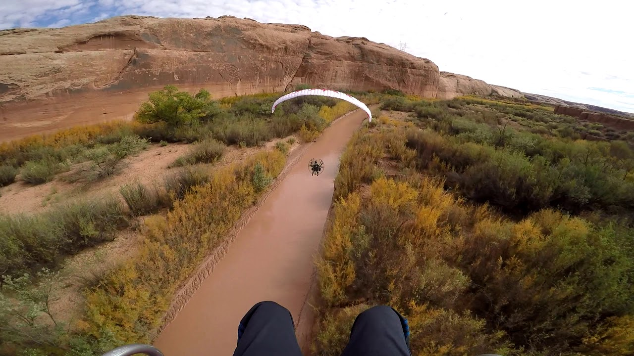 Paramotor SUPERDELL Gone Wild!! Powered Paragliding Extreme Fun River  Running!!