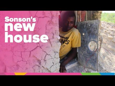 Sonson's New House   Haiti   Orphan's Promise