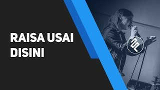 Raisa - Usai disini Karaoke Piano Instrumental / TUTORIAL - Stafaband