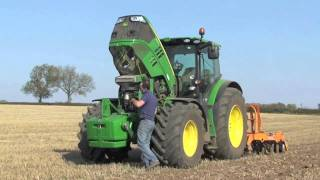 John Deere 6190R tested by Power Farming