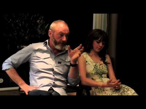 Game of Thrones interview part II: Liam Cunningham & Maisie Williams